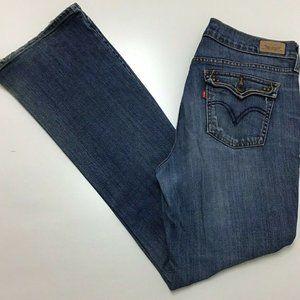 Levi's 515 Women's Jeans Size 8M Faded Distressed